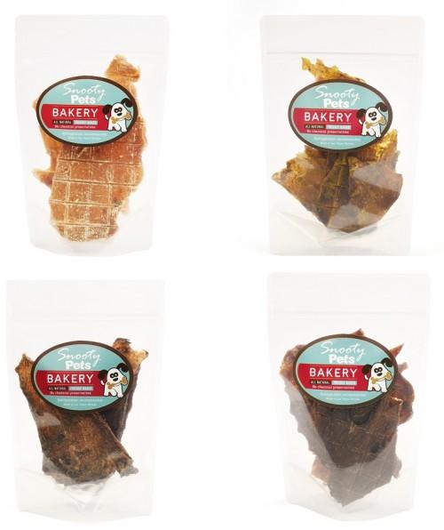 Chicken Jerky Variety 4 Pack