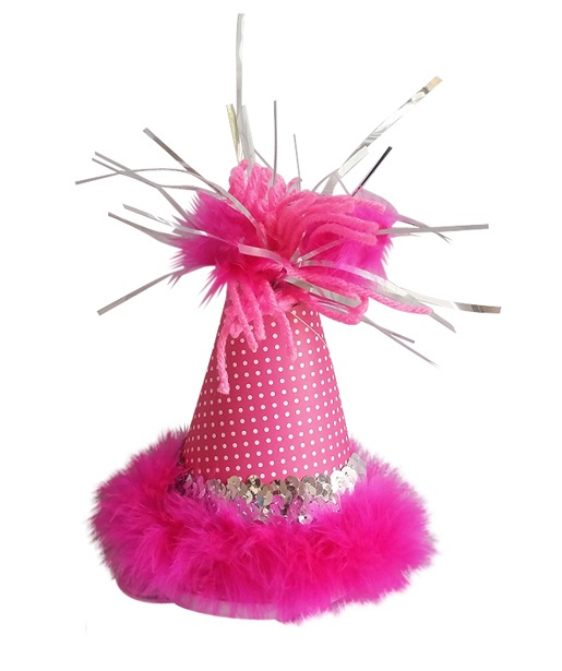 Party Hat, Pink Dots